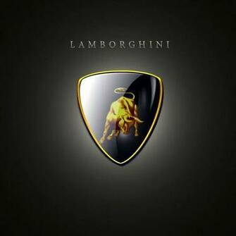 Wallpapers for iPad Lamborghini logo