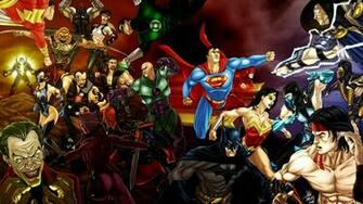 DC Comics All Characters HD Desktop Wallpapers Cartoon Wallpapers