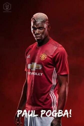 Paul Pogba Manchester United 201617 Wallpaper by dianjay on