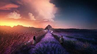 Eternal Lavenders Wallpapers