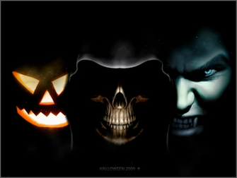 3d halloween wallpaper Animated Halloween Wallpaper