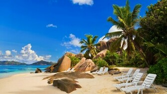Exotic Sea Beach Wallpaper HD Sea Beach HD Widescreen Wallpapers