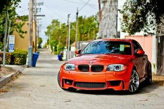 Red BMW car car BMW BMW 1M 1M HD wallpaper Wallpaper Flare