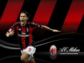 Filippo Inzaghi Ac Milan HD Wallpaper   HD Wallpaper HD Wallpaper