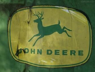 wallpaper john deere papel de parede com logotipo da john deere
