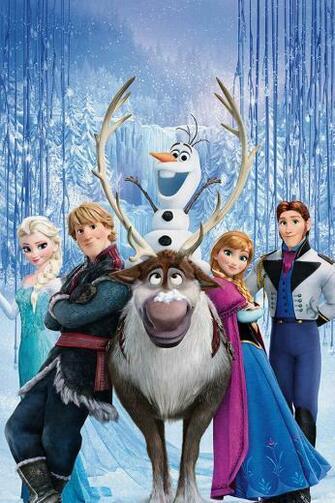 FREEIOS7 frozen family 2   parallax HD iPhone iPad wallpaper