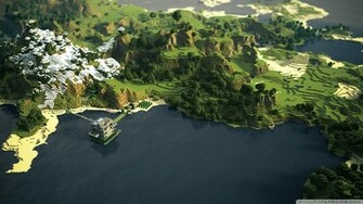 More awesome minecraft wallpapers 1 Design Utopia Trend