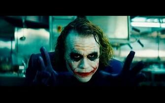 Heath Ledger Joker Face Why So Serious