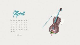 April 2018 wallpaper calendar for desktop background   Flipsnack Blog