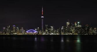 Toronto at night by Falcon912