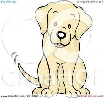 Puppy Sitting Royalty Vector Illustration By Pushkin 13