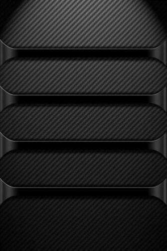 Black Chrome Hd iphone4 wallpaper 640x960