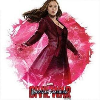 Scarlet Witchs Elizabeth Olsen updated costume for this latest MCU
