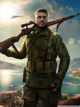 Sniper Elite 4 Game 4k 4K HD Desktop Wallpaper for 4K Ultra HD