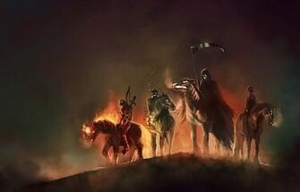 The Four Horsemen of the Apocalypse Det var tajt med rosterna dar ett