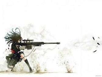 of anime sniper wide beauty anime sniper wide hd wallpaper wallpaper