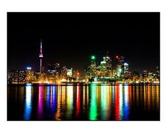 Torontonightskylinewallpaper