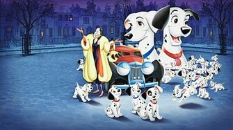 Walt Disney Characters Walt Disney Wallpapers   One Hundred and One