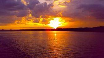 Ocean Sunset wallpaper 223911