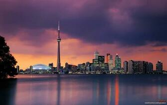 Skylines Night Toronto Cities Night City Fresh New Hd Wallpaper