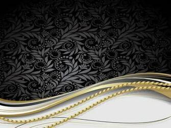 Black White Gold Wallpaper 1024x768 px 013 Mb   Picseriocom