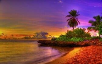 tropical beach image beautiful tropical beach sunset tropical beach