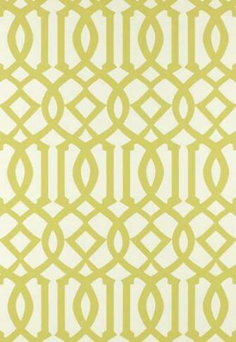 Regal Trellis   A Sophisticated LatticeTrellis Wallpaper Screen [LAT