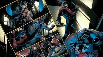 Wallpapers For Nightwing And Batman Wallpaper