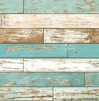 Wood Turquoise Weathered Texture Wallpaper Swatch modern wallpaper