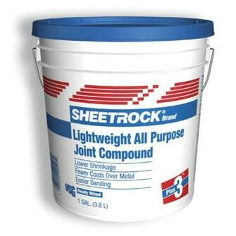 Shop SHEETROCK Brand 9 lb Lightweight Drywall Joint Compound at Lowes
