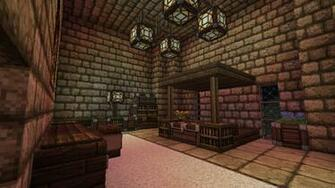 Minecraft   Fortress   Bedroom by Homunculus84