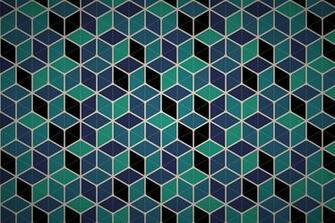 hexagonal cube mesh wallpaper patterns