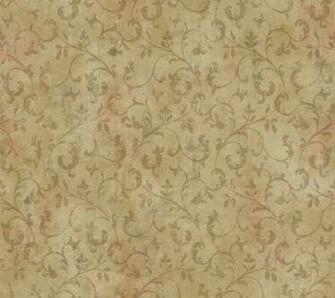 Gold Trailing Leaf Wallpaper   Wall Sticker Outlet