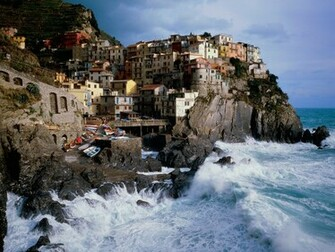 Manarola Italy Wallpapers HD Wallpapers