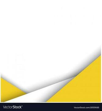 Abstract yellow white color modern background vect