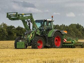 Wallpaper Agricultural machinery 2011 17 Fendt 724 Vario Worldwide