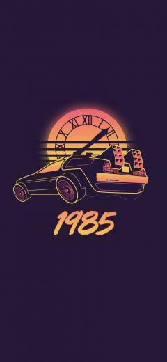 Back to the Future iPhone Wallpapers   Top Back to the Future