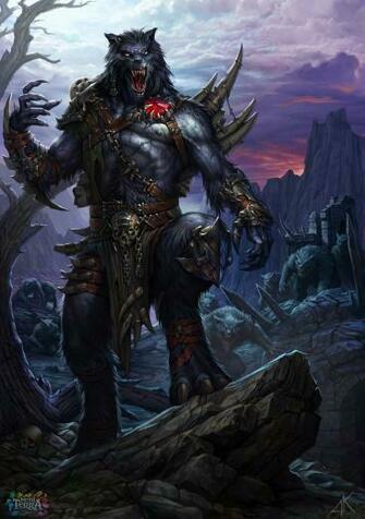 werewolf Vinfor by Kuzinskiy