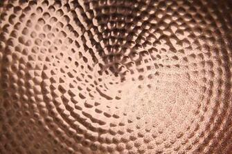 Textures shiney copper metal texture pitted bowl water drop wallpaper