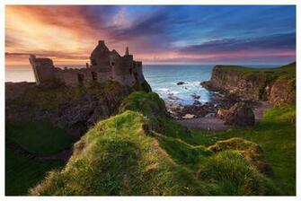 Dunluce Castle by SvenMueller