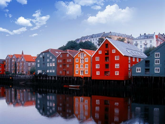 colorful norway houses wallpaper the stench of conservative hubris
