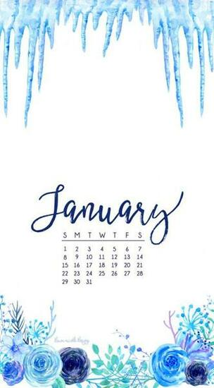 January 2017 Calendar Tech Pretties Dawn Nicole Designs