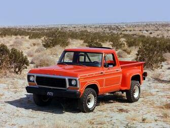1978 Ford F 100 classic truck 4x4 wallpaper background