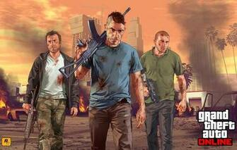 Wallpaper grand theft auto 5 gta online soldiers city team