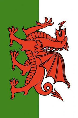 Wales Flag iPhone Wallpaper HD