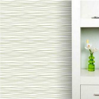 Clearance] Beige 24 SQUIGGLE IT REMOVABLE WALLPAPER