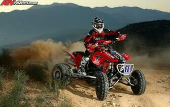 ATV Champion Beau Baron on his Honda TRX450R   Wednesday Wallpapers