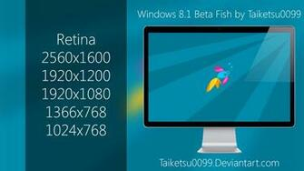 Windows 8 1 Fish Wallpaper Windows 8 1 Beta Fish by