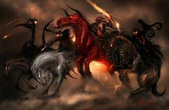 names of the four horsemen of the apocalypse four horsemen