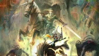Video Game The Legend Of Zelda Twilight Princess Wallpaper